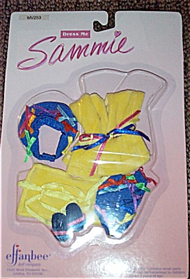 Effanbee Sammie Bathing Suit Doll Outfit Only 1995 (Image1)
