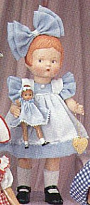 Effanbee Bisque Patsy with Vinyl Wee Patsy Doll Set 1996 (Image1)