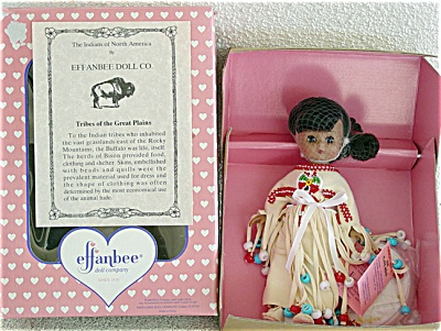 Effanbee Plains Indian L'il Innocents Doll 1996 (Image1)
