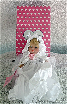 Effanbee Bisque Christening Baby Doll (Image1)
