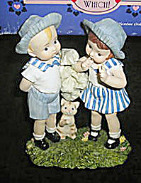 Effanbee Guess Which Patsy and Skippy Figurine 1996 (Image1)