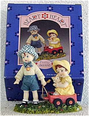 Effanbee Skippy and Patsy Faster Skippy Figurine 1996 (Image1)