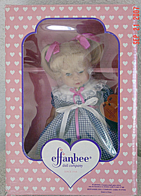 Small Effanbee Katy Toddler Doll 1997 (Image1)