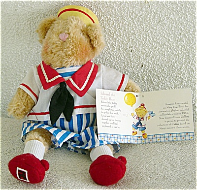 Enesco Mary Engelbreit Cuties Edward Teddy Bear 1999 (Image1)