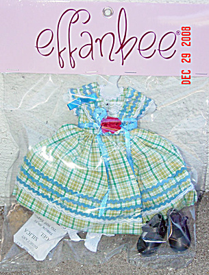 Effanbee Sunday Square Dance Petite Filles Doll Outfit 2008 (Image1)