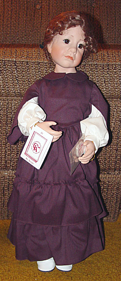 Little Women Jo Doll, by Julie Good-Kruger 1997 (Image1)