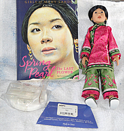 Kish 2002 Spring Pearl of China Doll, Book Set, American Girls (Image1)