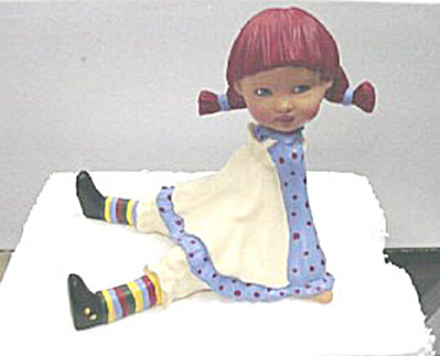 Helen Kish Bisque Sitting Raggedy Riley Figurine 2006