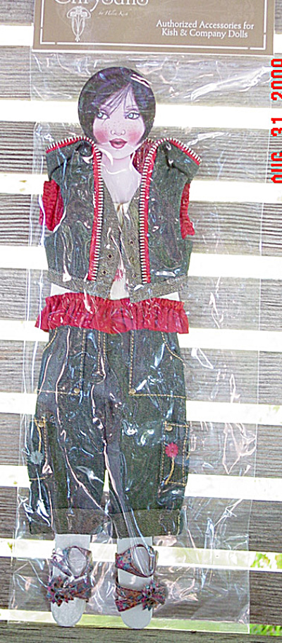 Helen Kish Skate Park Chic Chrysalis Doll Outfit Only, 2009