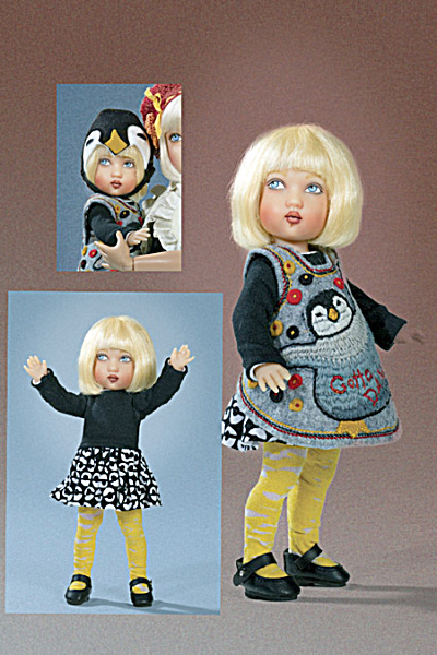 Gotta Dance Tatum Toddler Girl Doll, 2013 Helen Kish (Image1)