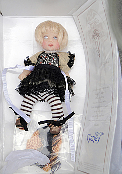 Clancy City Chic 6 in. BJD Doll, 2014 Helen Kish (Image1)