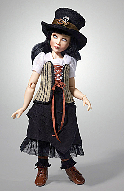 Kish 2014 11 in. Steampunk Paige Resin BJ Doll (Image1)