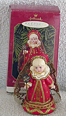 Hallmark Madame Alexander Red Queen Ornament 1999 (Image1)