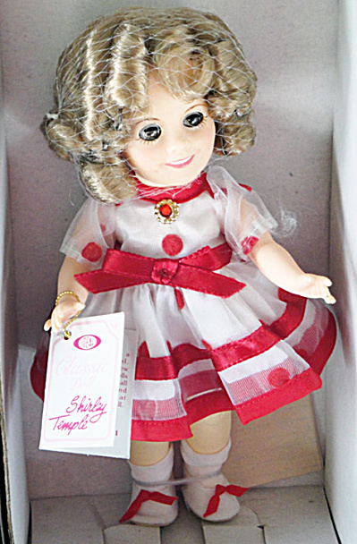 Vinyl Ideal 8 In. Stand Up and Cheer Shirley Temple Doll, 1982 (Image1)