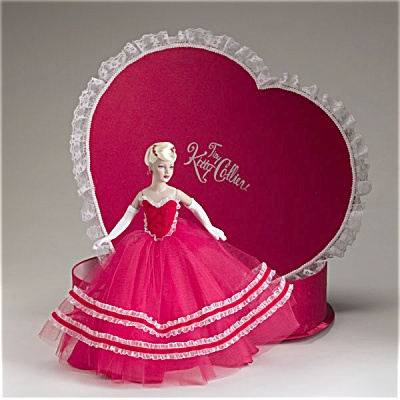 Tonner Tiny Kitty Valentine Hearts Hat Box Set 2005 (Image1)