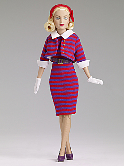 Tonner Stripes Suit Me Tiny Kitty Fashion Doll, 2014 (Image1)
