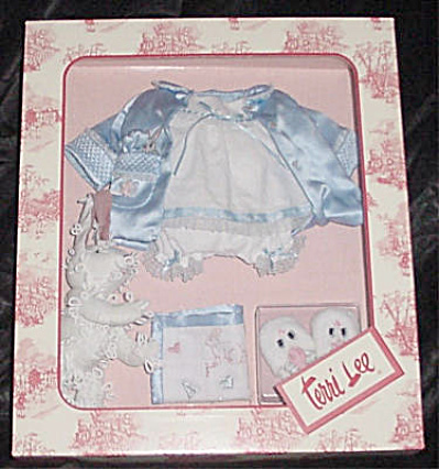 Knickerbocker Terri Lee Blue Bunny Bedtime Outfit Only (Image1)