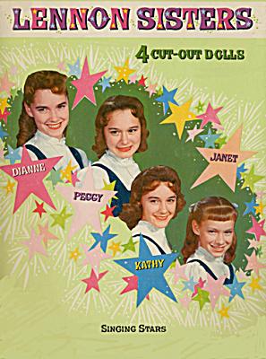 Lennon Sisters Singing Stars Paper Dolls (Image1)