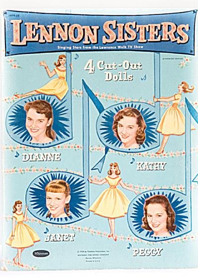 Aqua Lennon Sisters Singing Stars Paper Dolls (Image1)