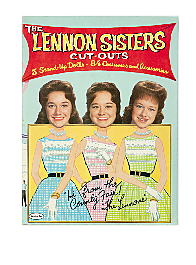 The Lennon Sisters 1963  Cut-Outs, At the County Fair (Image1)