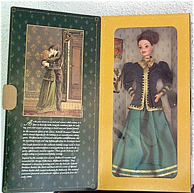 1996 Hallmark Yuletide Romance Barbie Doll (Image1)