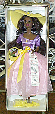 Avon Spring Blossom African-American Barbie Doll 1995 (Image1)