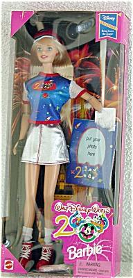 Mattel Walt Disney World 2000 Bring Home the Magic Barbie Doll (Image1)