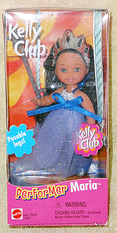 Mattel 2000 Kelly Club Circus Performer Maria Doll with Wand (Image1)