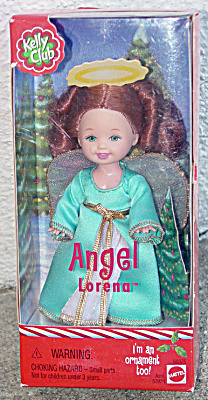 Mattel 2001 Kelly Club Angel Lorena Doll Ornament (Image1)