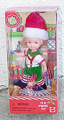 Mattel 2001 Kelly Club Elf Kelly Doll Ornament (Image1)