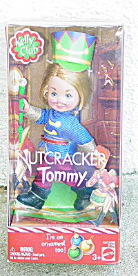 Mattel 2003 Kelly Club Nutcracker Tommy Doll Ornament (Image1)