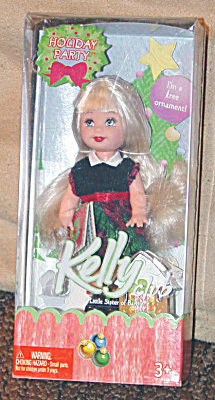 Mattel 2005 Kelly Club Holiday Party Kelly Doll Ornament (Image1)