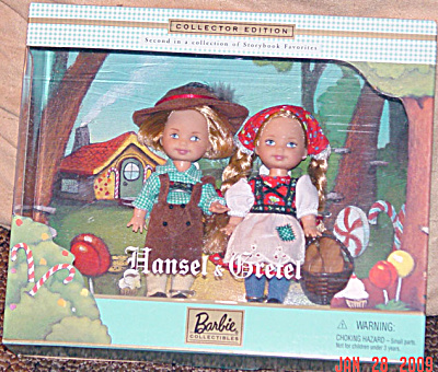 Mattel Kelly and Tommy Dolls as Hansel and Gretel 2000 (Image1)