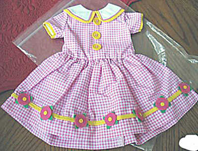 Tonner Large Ann Estelle Miss Smarty Dress Only 2003