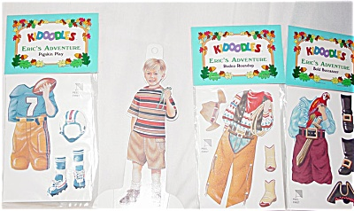 Peck Aubry Eric's Adventure Paper Doll Set 1997