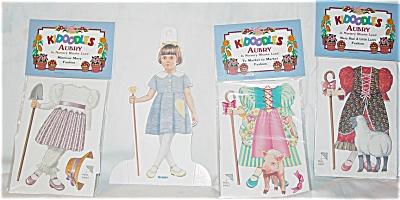 Aubry in Nursery Rhyme Land Paper Doll Set 1997 (Image1)