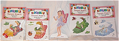 Peck Aubry Tiffany Fairy Kidoodles Paper Doll Set (Image1)