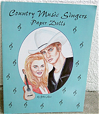 Country Music Singers Paper Doll Booklet 4 Paper Dolls 1996 (Image1)