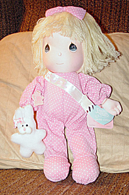 Applause Precious Moments Jamie New Baby Doll 1990