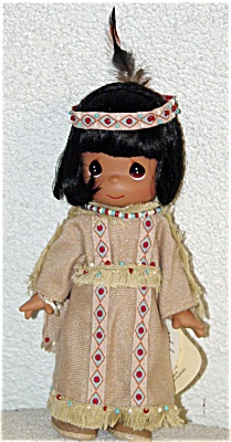 Precious Moments Morning Glory American Indian Doll 1995 (Image1)