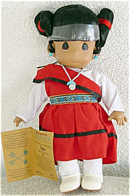 Precious Moments Co. Yamka Hopi Native American Doll 1994-1996 (Image1)