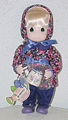 Precious Moments January Jasmine Doll 2nd Edition 1995 (Image1)