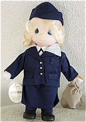 Precious Moments Air Force Girl Doll 1997 (Image1)