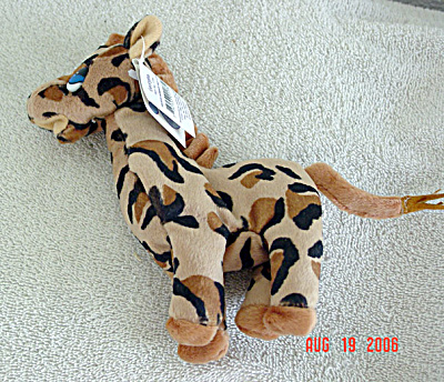 Precious Moments Co. Georgiana Giraffe Bean Bag Pal (Image1)