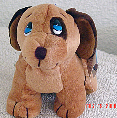 Precious Moments Co. Dudley Dog Bean Bag Pal 1997-1998 (Image1)