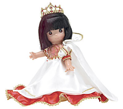 Precious Moments Christmas Enchanted Snow White Doll, 2010