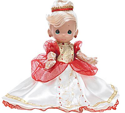 Precious Moments Christmas Enchanted Cinderella Doll, 2010 (Image1)