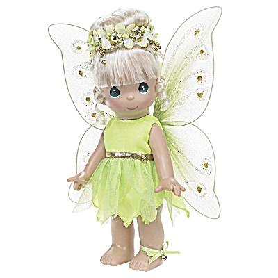 Precious Moments Co. Tinkerbelle Doll, Disney 2008