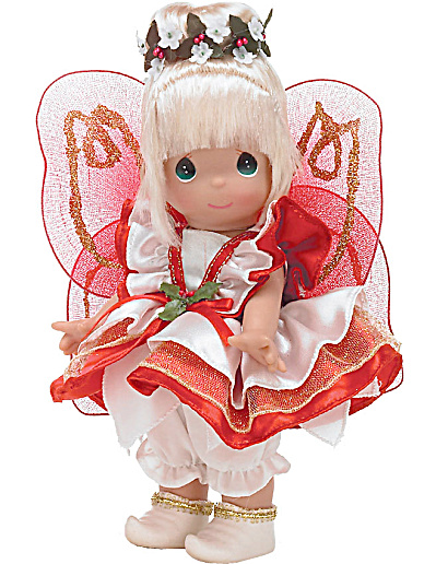 Precious Moments Enchanted Christmas Tinkerbelle Doll 2010