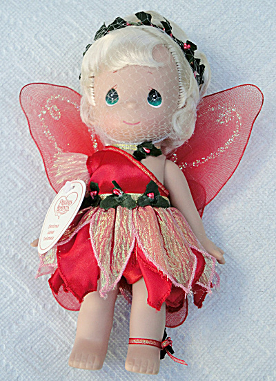 Precious Moments Christmas Wishes Tinkerbelle Doll 2014